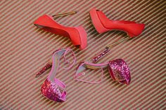 Shades of pink in luxe details channeled this post-debut celebration. Celebration, Shades, Detail, Heels, Pink, Fashion, Heel, Moda, Fashion Styles