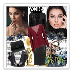 """""""YOINS 7"""" by nedim-848 ❤ liked on Polyvore featuring Yves Saint Laurent, Burberry, Givenchy, women's clothing, women's fashion, women, female, woman, misses and juniors"""