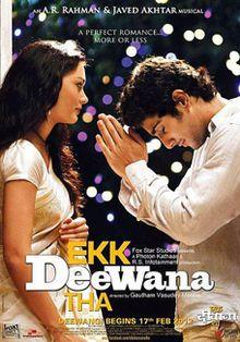 Ekk Deewana Tha 2012 | Prateik Babbar | Amy Jackson | Manu Rishi | AR Rahman | Gautham Menon