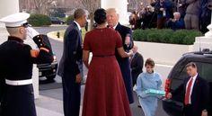 Donald Trump White House Arrival On Inauguration Day - Donald Trump Etiquette