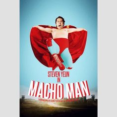 Steven Yeun in Macho Man| twdnotofficial (IG)  Tags: #twd #thewalkingdead #walkingdead #twdparodyposters #glennrhee #stevenyeun