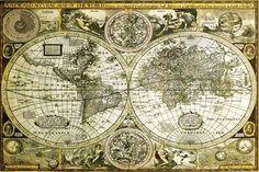 World Map-Historical Julisteet AllPosters.fi-sivustossa
