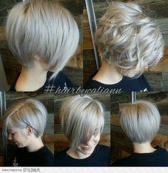 Znalezione obrazy dla zapytania półdługie fryzury asymetryczne