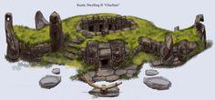 Rustic Stone Dwelling | Video Games Artwork