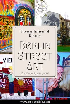 Discover Berlin Street Art and Graffiti - Beautiful artworks around Berlin, Germany. Check out for more pictures and information.