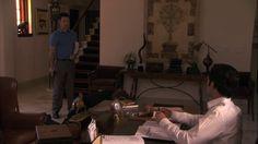 """Burn Notice 4x13 """"Eyes Open"""" - Michael Westen (Jeffrey Donovan) & Adam Scott (Dany Pino)"""