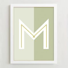 These mid century-inspired letter prints celebrate the typography of the 50s and 60s, from A to Z.