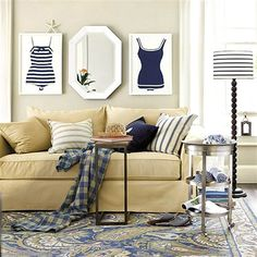 Nautical knockouts: 11 ways to add coastal cool to your home decor
