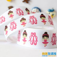 Cheap Ribbons on Sale at Bargain Price, Buy Quality ballet leather, print fashion, print ballet flats from China ballet leather Suppliers at Aliexpress.com:1,Fabric Type:Grosgrain 2,Pattern:Cartoon 3,Product Type:Ribbons 4,Style:Single Face 5,Technics:Printed
