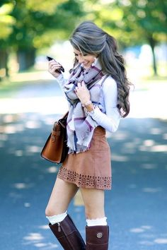 Must Wear Fall Outfits With Boots (7)