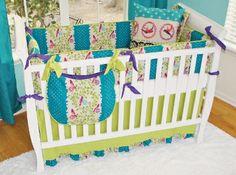 Dorothy Crib Fab Style Kids Rooms http://fabstylekidsrooms.com/Baby-Nurseries/Nursery-Collections/Girls-Nursery-Bedding/Dorothy-Crib #baby