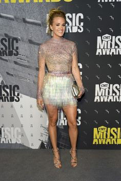 Carrie Underwood in Country Barbie Drag Once Again at the CMT Music Awards