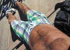 hairy man venice beach boardwalk