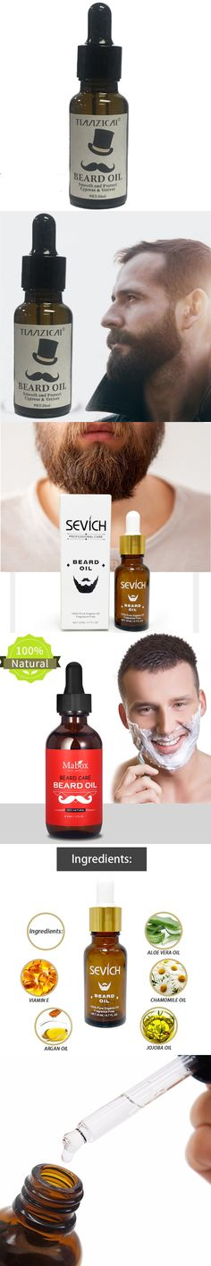 Men Beard Oil for Styling Smoothing and Protect Cypress Gentlemen Beard Conditioner  Care Products 20ML Free Shipping