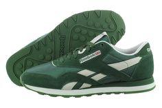 reebok classic nylon green