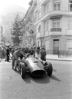 Monaco 1956 , Ferrari D50.
