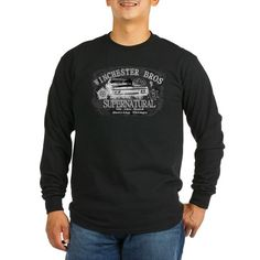 Winchesters on the Road II Long Sleeve T-Shirt on CafePress.com