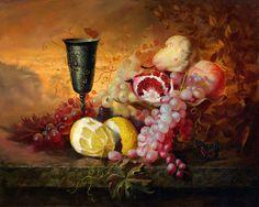 25 Hyper Realistic Still Life Oil Paintings by Alexei Antonov - By Old Masters Technique. Read full article: http://webneel.com/25-hyper-realistic-still-life-oil-paintings-alexei-antonov-old-masters-technique | more http://webneel.com/paintings | Follow us www.pinterest.com/webneel
