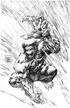 The Beast by Tan, in Joshua McCoy's The Beast's Lab Comic Art Gallery Room