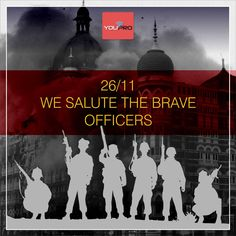#Tribute #26.11 Eight years ago on 26 #November 2016 the life of #Mumbaikars changed suddenly, when terrorists attacked some places in Mumbai. This dreadful incident claimed life of many from police to doctors to citizens. We consider them martyrs. #YouFindPro pay the respect to these martyrs and we pray that their souls are in peace. Our condolences are with those whose family lost their loved ones. #YouFindPro #ProfessionalServicesApp
