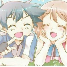 Ash and Serena, Amourshipping