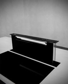 Výsuvná digestoř z pracovní desky SIRIUS SDD 18 BALANCE BLACK
