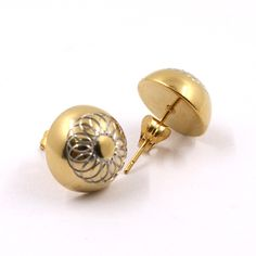 Find More Stud Earrings Information about Stud Earrings Stainless Steel Gold Plated Ball Earring for female gift 7.2G,High Quality Stud Earrings from JINHUI on Aliexpress.com