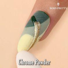Dotting Tool Designs, Nail Art Designs, Nail Disorders, Wave Nails, Green Nail Art, Leopard Print Nails, Geometric Nail, Nail Blog, Dream Nails