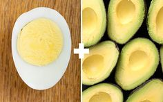 5 Muscle Building Meals To Eat Before You Sleep - Deviled Avocado Eggs