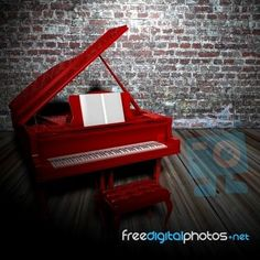 Red piano's are awesome!!