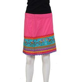 Women's Skirt in Pink - s12biwb404