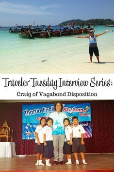 Interview with travel blogger Craig of Vagabond Disposition. Craig talks about his travel start, inspirations, and what he takes on a trip.