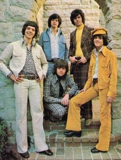 Ahh, the leisure suit. High fashion at its best. The Osmonds. Style Année 60, Cool Style, 60s And 70s Fashion, Vintage Fashion, 1960 Mens Fashion, Mod Fashion, High Fashion, Costume Année 60, Donny Osmond
