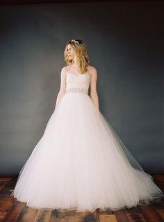 Feminine Wedding Portrait Ideas via oncewed.com