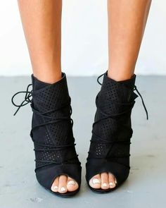 Black heel