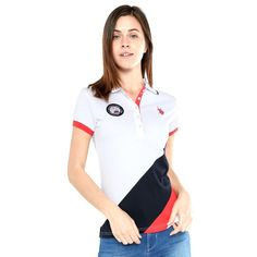 Playera polo blanca Camisa Polo, Fred Perry, Shirt Designs, Casual Outfits, Prom, Eve, Mens Tops, How To Wear, Jackets