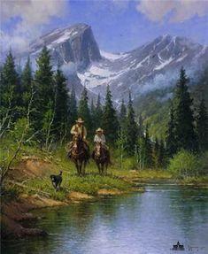 Beside Still Waters by G. Harvey