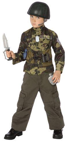 Army Ranger Child Costume Kit from BirthdayExpress.com