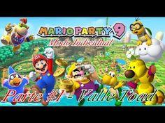 Mario Party 9: Modo Individual ep #1 Valle Toad