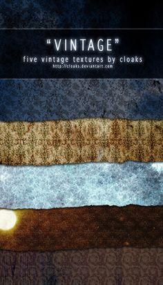 Vintage Texture Pack by `cloaks on deviantART