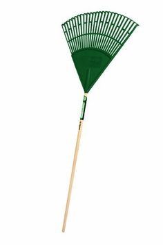 Truper 30458 Tru Tough 48Inch Plastic Leaf Rake 22Inch Head Wood Handle -- Read more at the image link.