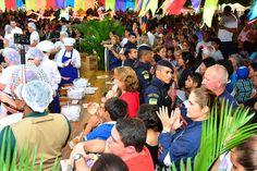 Maior Paçoca do Mundo serve cerca de 20 mil pessoas #pmbv #prefeituraboavista #roraima #boavista