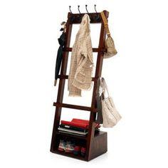 Alfred Coat Rack (Mahogany Finish)