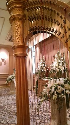 Enjoying the privilege of performing for Weddings on my Harp with gorgeous flowers! Harp, Lake Tahoe, Utah, Touch, Weddings, Flowers, Wedding, Royal Icing Flowers, Marriage
