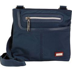 Hadaki Mini Me Crossbody - Indian Teal - Crossbody Bags ($32) ❤ liked on Polyvore featuring bags, handbags, shoulder bags, blue, blue shoulder bag, mini handbags, handbags shoulder bags, mini purse and crossbody purses