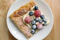 4th of July *Food* - Summer Berry Tart (recipe  tutorial)