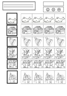 discrimination visuelle - la maternelle de Camille School Worksheets, Worksheets For Kids, Visual Perceptual Activities, Pre Reading Activities, Vision Therapy, Visual Learning, Hidden Pictures, Preschool Math, Reading Comprehension