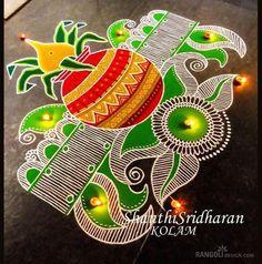Rangoli Designs Simple Diwali, Indian Rangoli Designs, Rangoli Designs Latest, Rangoli Designs Flower, Free Hand Rangoli Design, Rangoli Border Designs, Small Rangoli Design, Rangoli Patterns, Rangoli Ideas