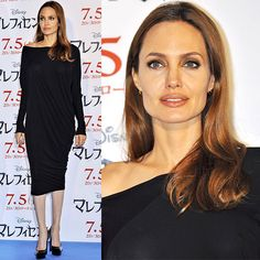 Angelina Jolie at the 'Maleficent' Japan photo call