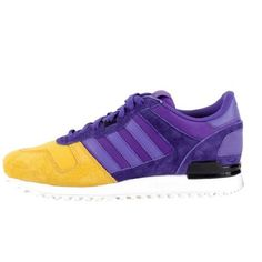 This ZX 700 Blaze Purple/Yellow Ray sneaker makes plans to drop in July, the colorway is perfect for adding that something to your summer looks. Would you rock? #Sneakerhead #Sneakeroftheday #Sneakerporn #Sneakergram #hickies